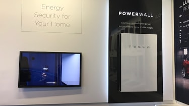 Tesla Factory Tour - powerwall