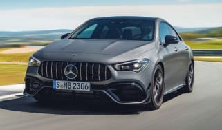 Mercedes-AMG CLA 45 - front tracking