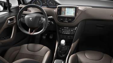 Peugeot 2008 cabin