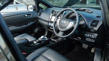 Nissan Leaf 60kWh - dash