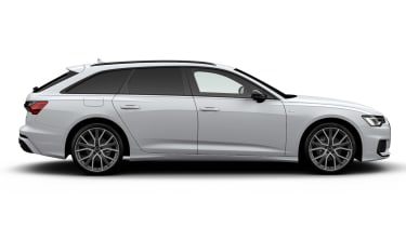 Audi A6 Avant Black Edition - side