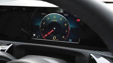 Mercedes A 180 SE - instruments