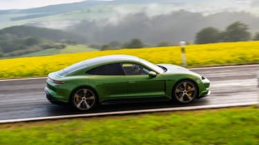Porsche Taycan Turbo S - side