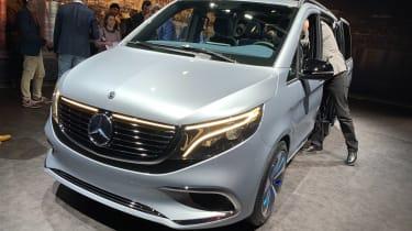 Mercedes Concept EQV - Geneva front
