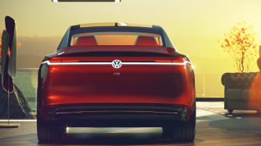 Volkswagen I.D Vizzion - full rear