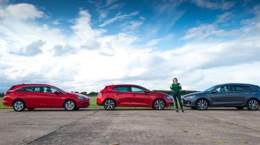 Renault Megane long term test - parked