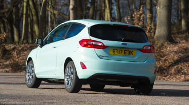 Ford Fiesta long term test - first report rear cornering