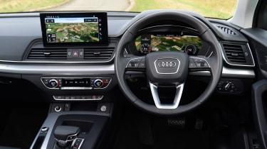 Audi Q5 40 TDI - dash