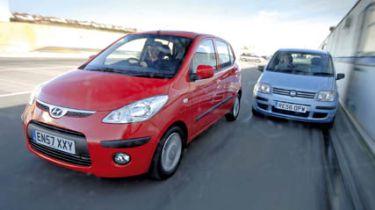 Hyundai i10 vs Fiat Panda