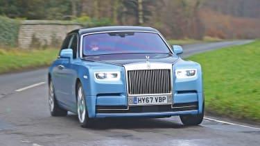 Building a Rolls-Royce Phantom - front
