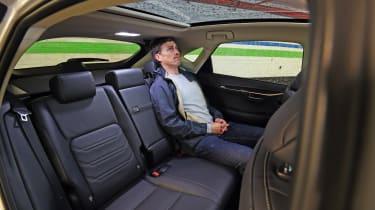 Lexus NX 300h seats