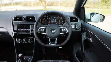 VW Polo GTI 2015 interior