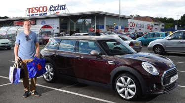 MINI Clubman long-term - second report header