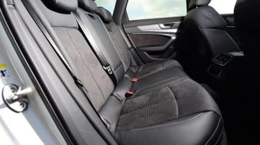 audi a6 avant rear seats legroom
