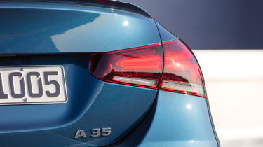Mercedes-AMG A 35 Saloon - A 35 badge