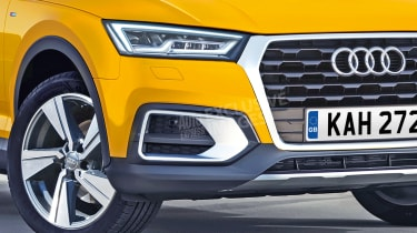 Audi Q3 - watermarked front detail