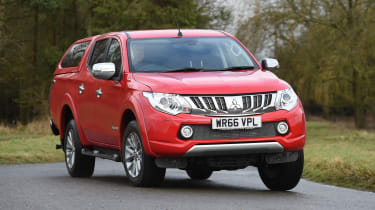 Mitsubishi L200 long-term test - front