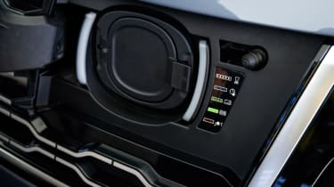 New Range Rover PHEV 2017 review - socket