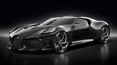 Bugatti La Voiture Noire - front