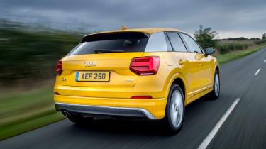 Audi Q2 1.4 TFSI - rear