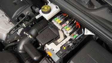 Used Citroen C4 - battery