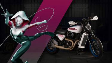 Harley Davidson Marvel Super Hero Customs - Spider Gwen Alternative