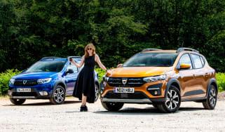 Dacia Sandero Stepway long termer - first report header