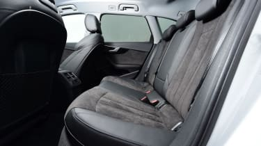 Audi A4 Allroad UK 2016 - rear seats