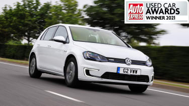 Best used electric car 2021Volkswagen e-Golf