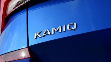 Skoda Kamiq - badge