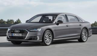 New Audi A8 - A8 L front