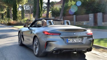 BMW Z4 - rear tracking