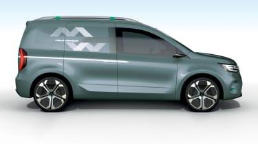 Renault Kangoo ZE Concept - side static