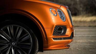 Bentley Bentayga Speed - front detail