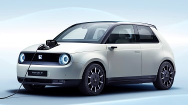 Honda e Prototype - front charging