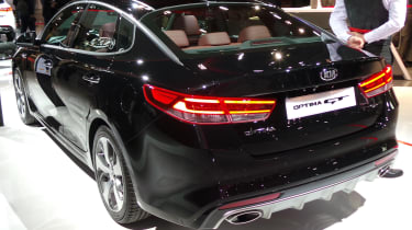 New Kia Optima GT rear
