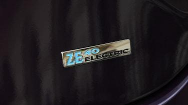 Renault ZOE R110 - rear badge