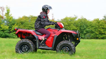 Honda quad bike
