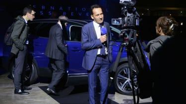 Peugeot 3008 big reveal - TV crew