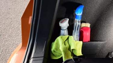 SEAT Ateca long term final report - cleaning products