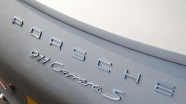 Porsche 911 Carrera S Cabriolet badge