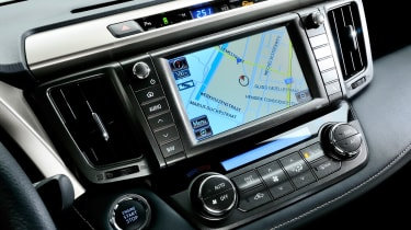 Toyota RAV4 centre console