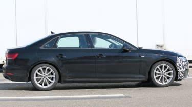 Audi A4 facelift - full side