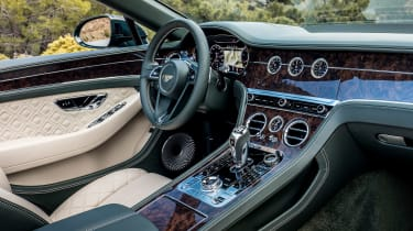 Bentley Continental GT Convertible - cabin