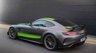 Mercedes-AMG GT R Pro - rear/side