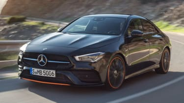 2019 Mercedes CLA leaked picture front