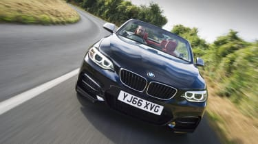 BMW M240i Convertible tracking