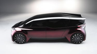 Toyota Fine-Comfort Ride concept - side
