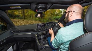3008 minutes in a Peugeot 3008 - Darren driving 2