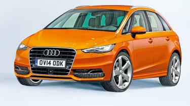 Audi A4 SuperAvant front three-quarters